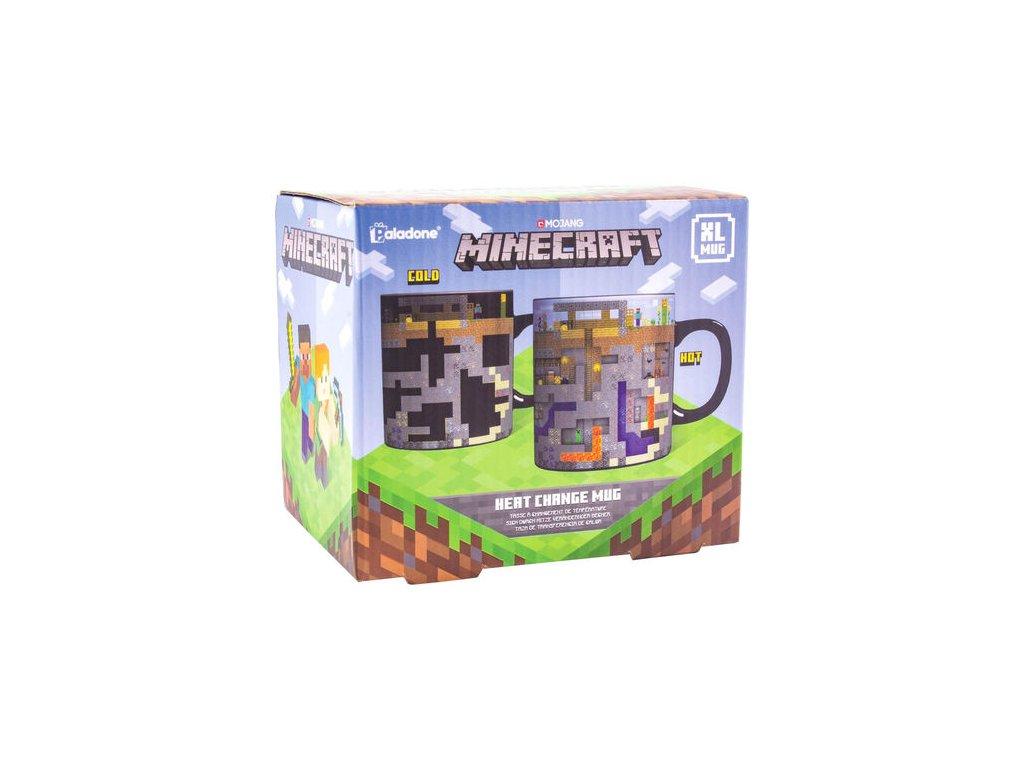 Minecraft hrnek Mines měnící XL