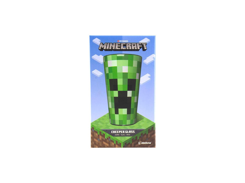 Minecraft Creeper sklenička