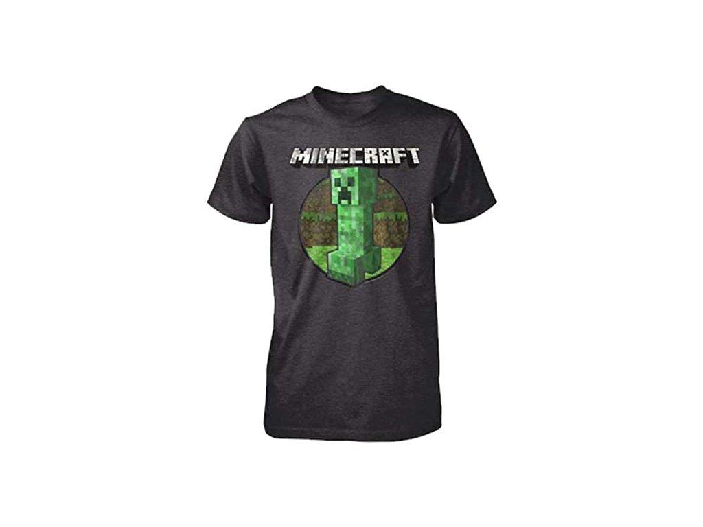 Minecraft tričko Creeper Retro pánské