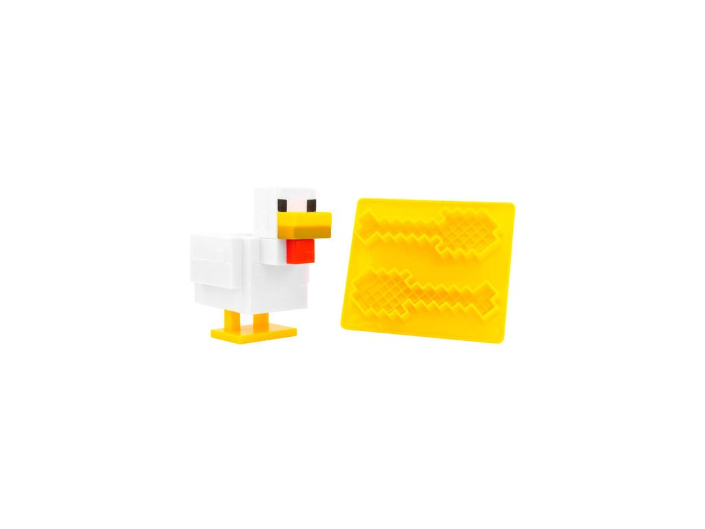 Minecraft stojánek na vajíčko a forma na toust