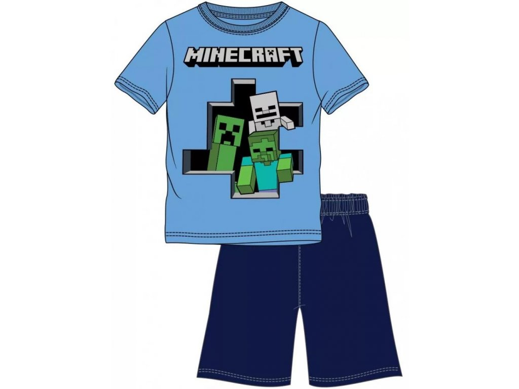 Minecraft pyžamo Monsters dětské