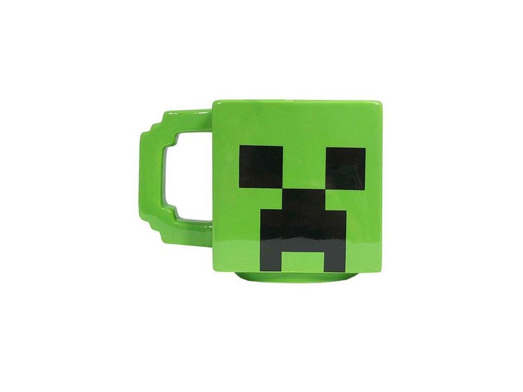 Minecraft hrnek Creeper keramický