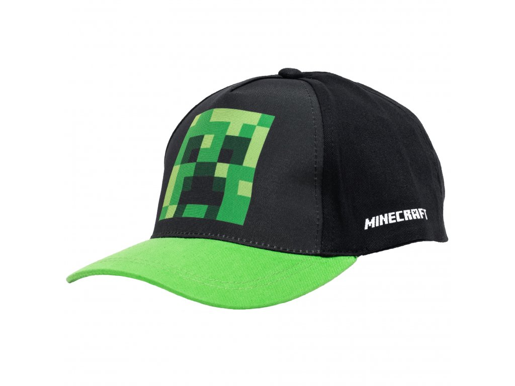 Minecraft Creeper kšiltovka