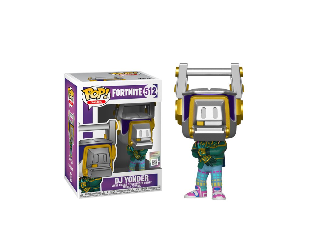 Fortnite DJ Yonder figurka Funko Pop!