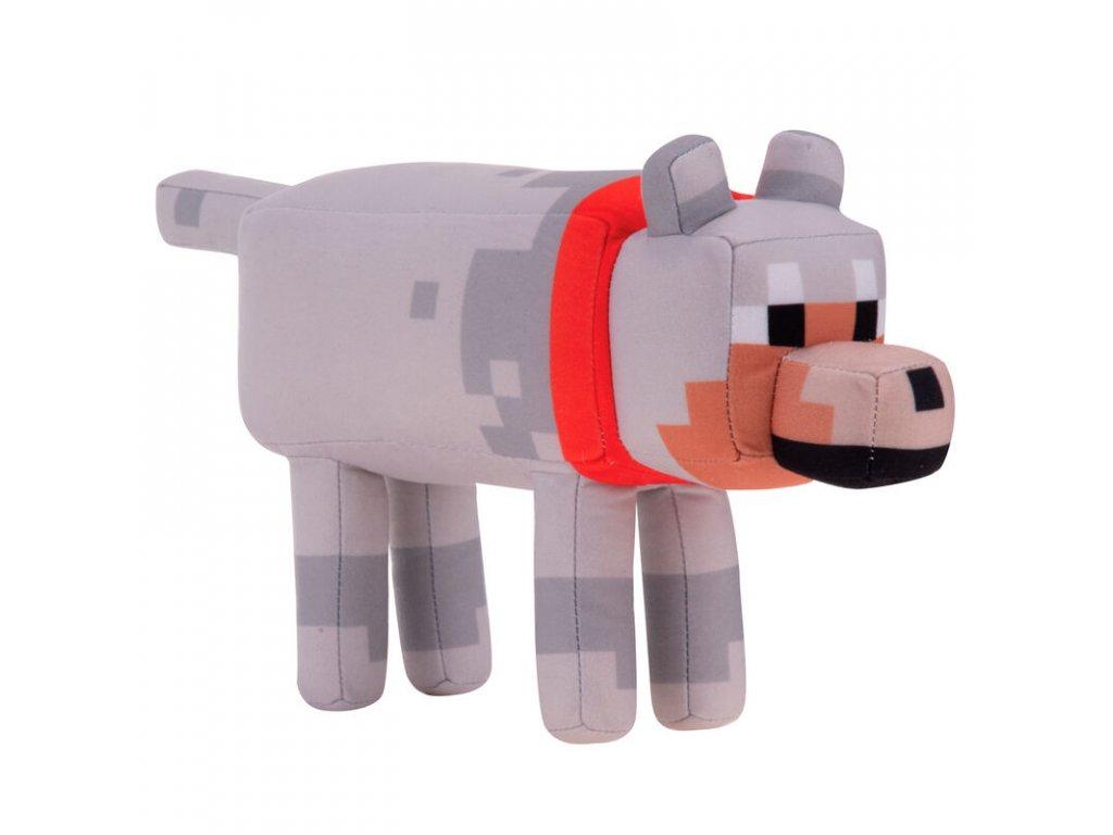 Minecraft plyšák Vlk 29 cm