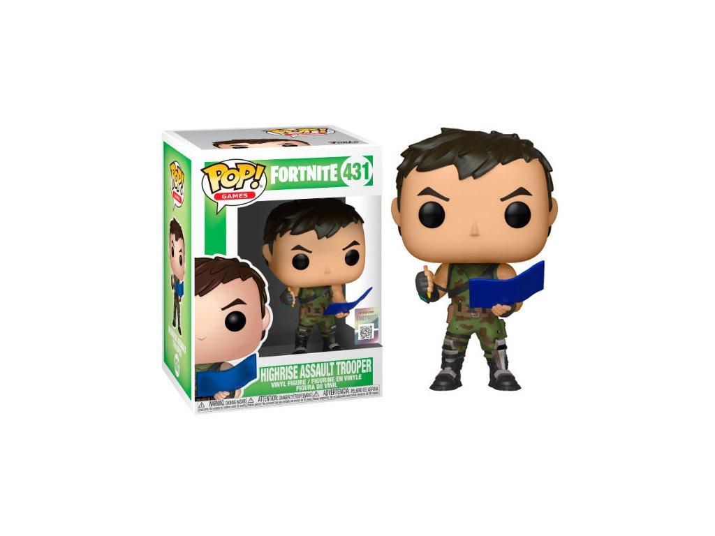 Fortnite High Rise Assault Trooper figurka Funko Pop!