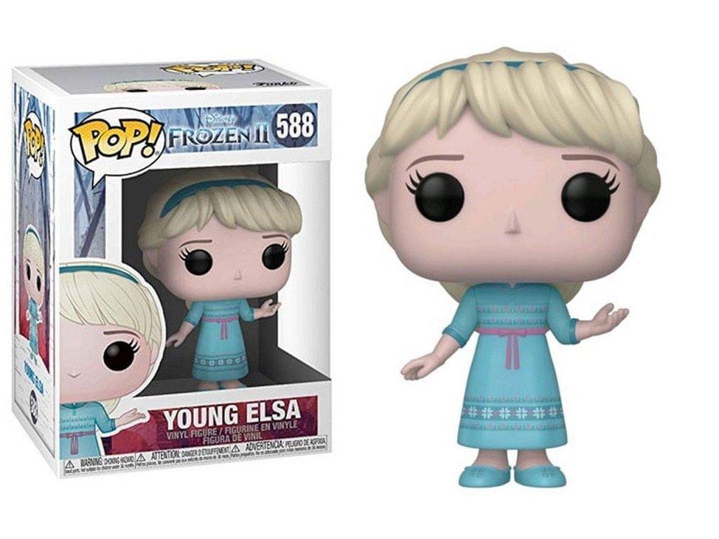 Disney Frozen 2 Young Elsa figurka Funko Pop!