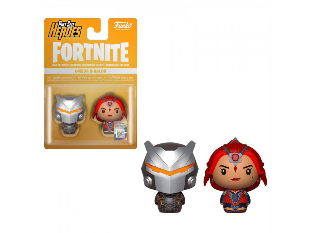 Fortnite figurky pint size Omega & Valor