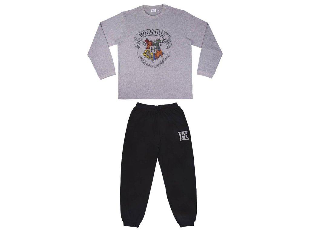 Harry Potter pyžamo Hogwarts