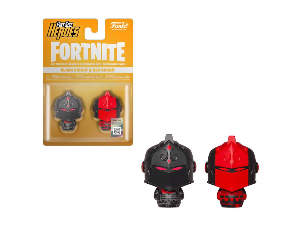 Fortnite figurky pint size Black Knight & Red Knight