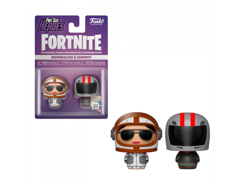 Fortnite figurky pint size Moonwalker & Burnout