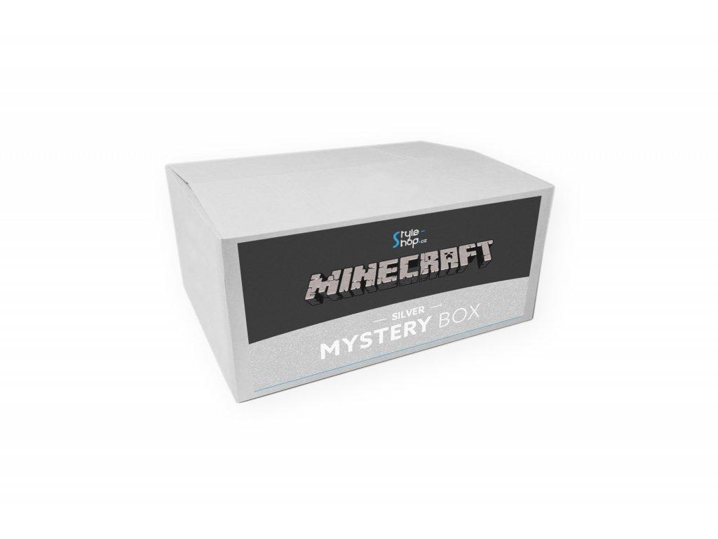 Minecraft Mystery box Silver