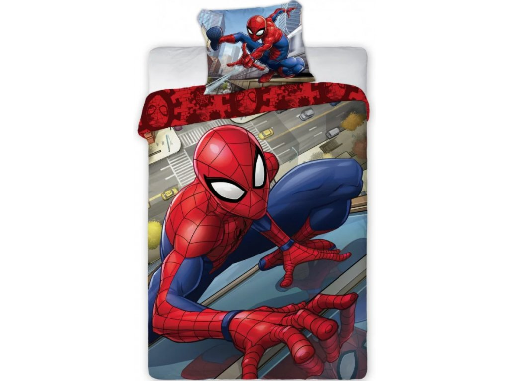 spiderman bedlinen