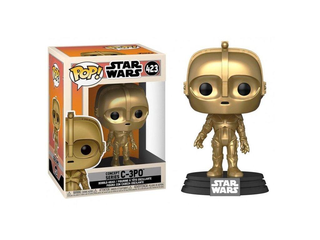 Star Wars figurka Concept Series C 3PO 1