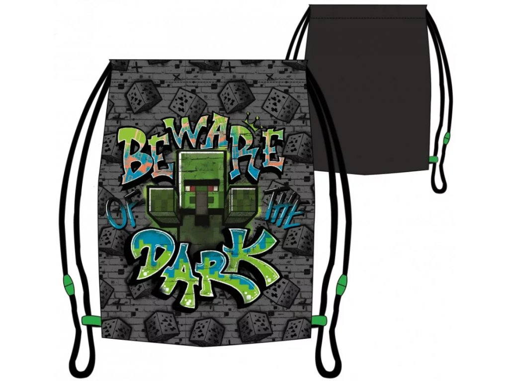 Minecraft vak na záda Beware of the dark