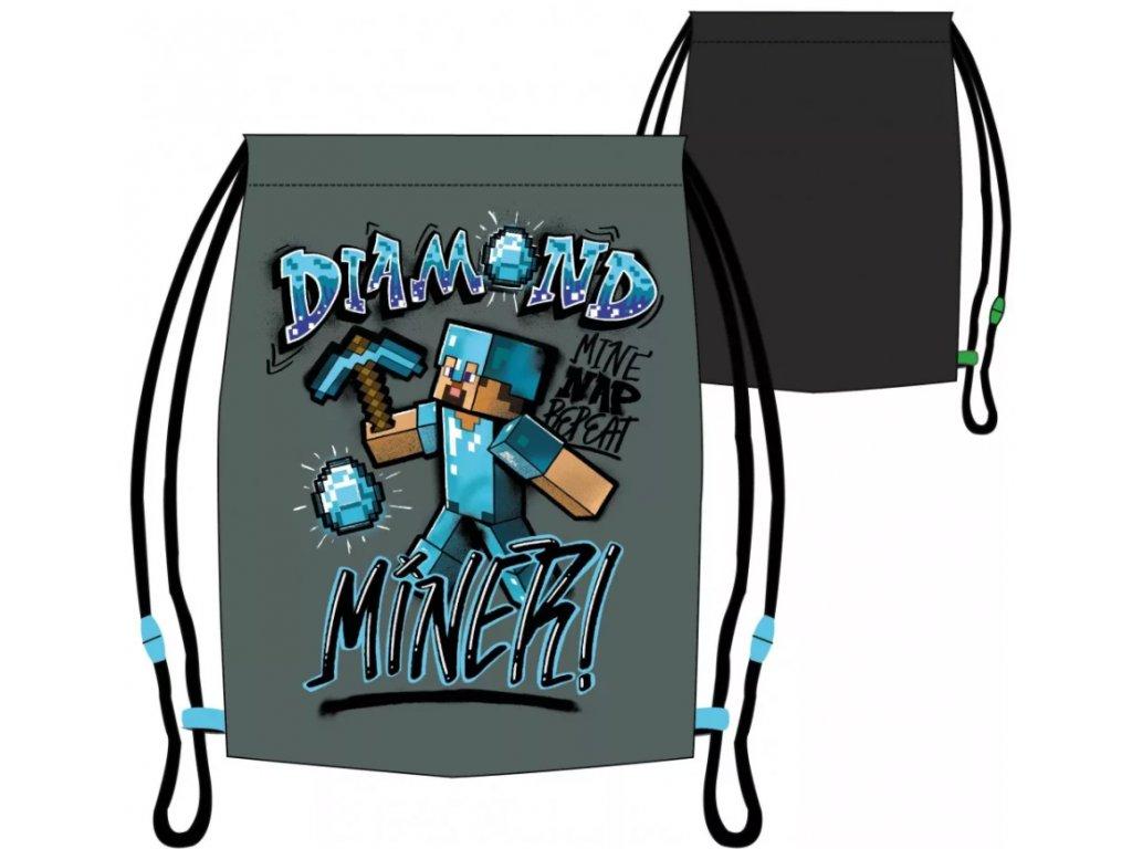 Minecraft vak na záda Diamond miner
