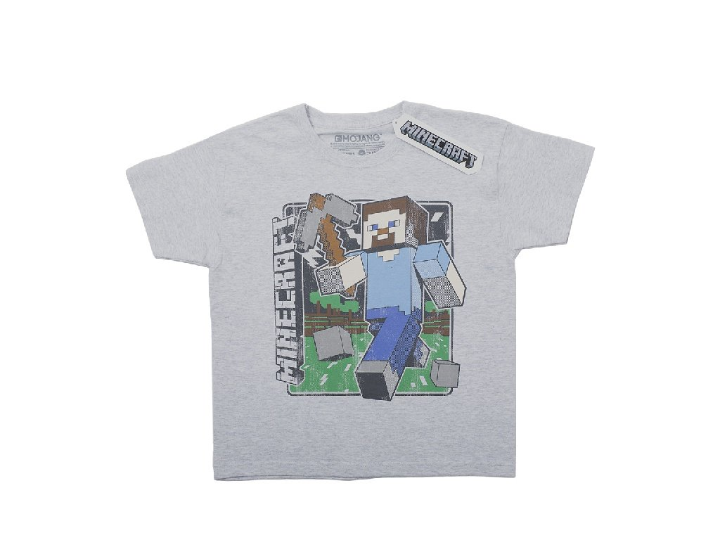 Minecraft tričko Vintage Steve dětské