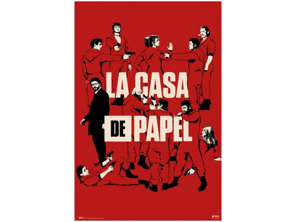 La Casa De Papel plakát
