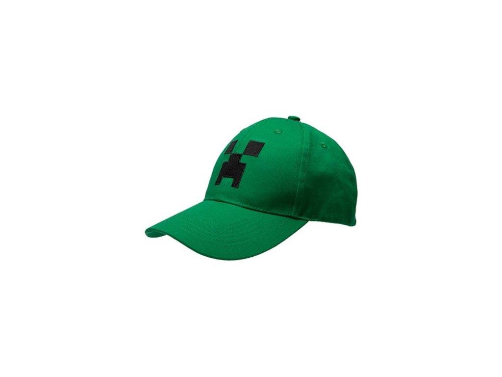 Minecraft Creeper kšiltovka