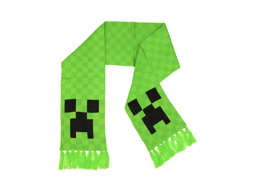 Minecraft Creeper šála