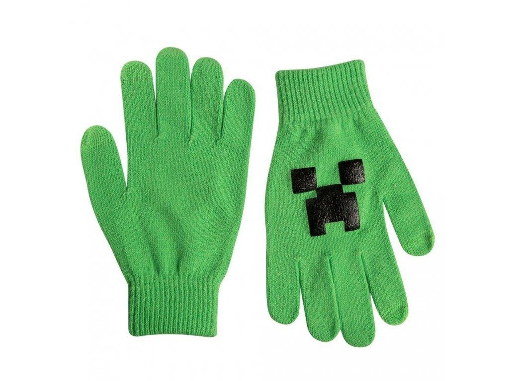 Minecraft rukavice Creeper