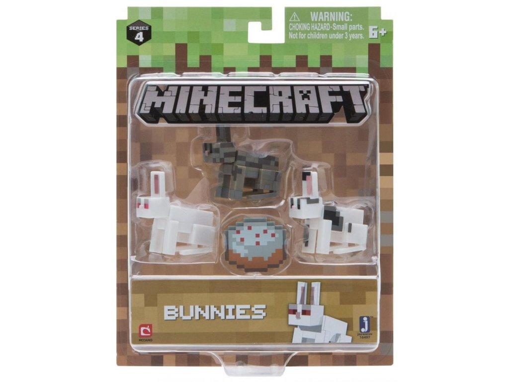 Minecraft set s králíky
