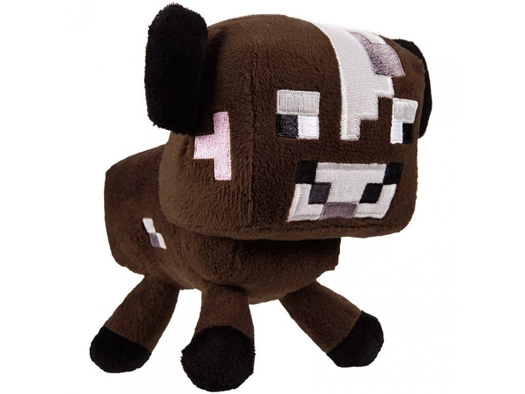 Minecraft plyšák kráva