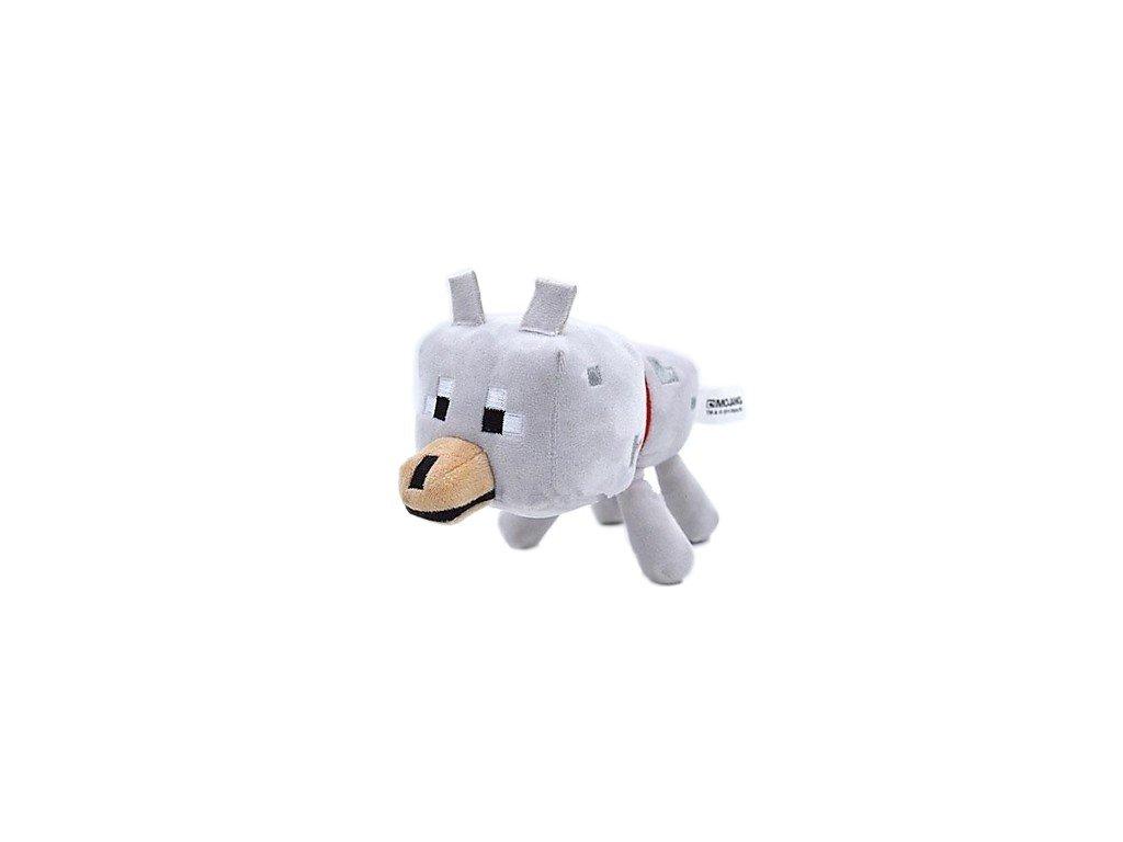 Minecraft plyšák vlk