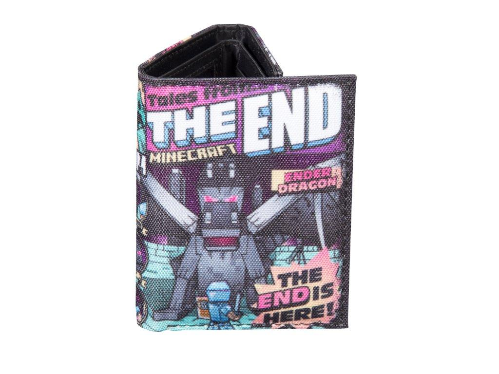 Minecraft peněženka Tales from the End Tri-Fold
