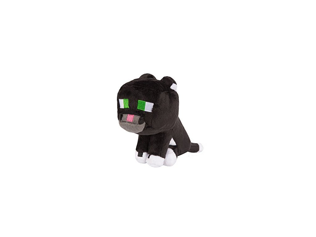 Minecraft plyšák kočka černá