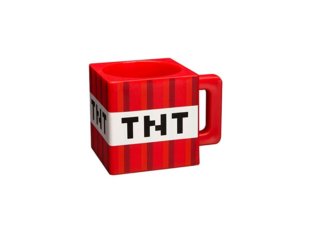 Minecraft TNT hrnek