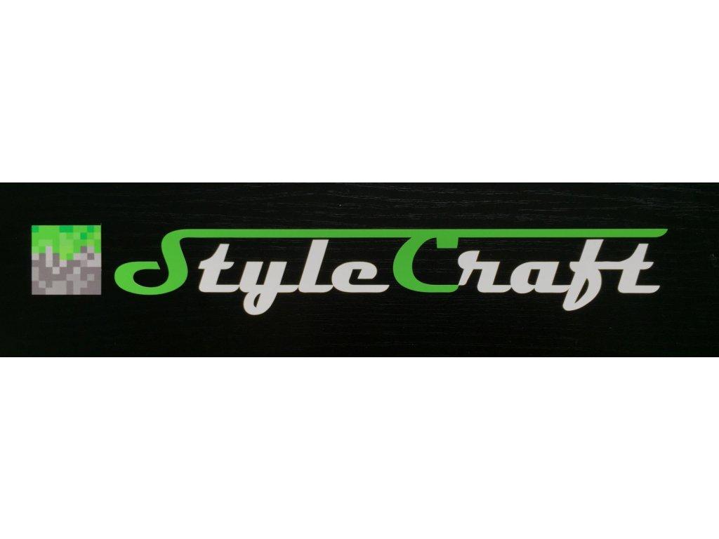 Samolepka logo StyleCraftu