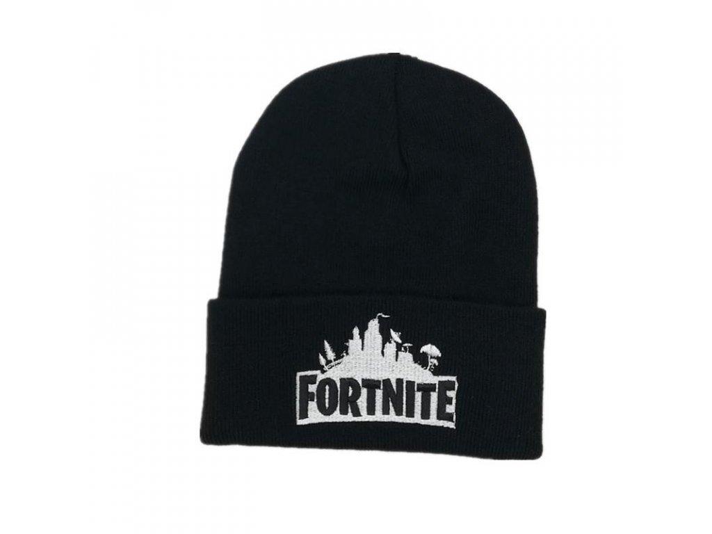 Fortnite zimní čepice černá