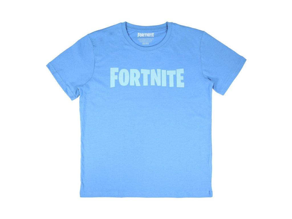 Fortnite tričko modré dětské