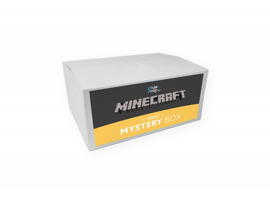 Minecraft Mystery box Gold