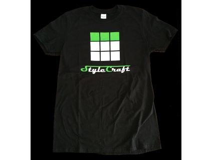 StyleCraft tričko černé