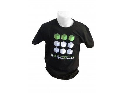 StyleCraft tričko černé 2