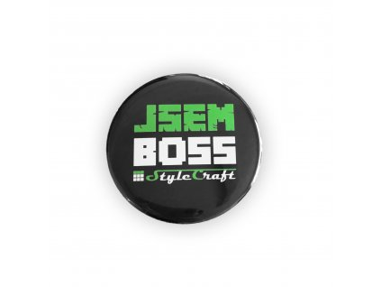 StyleCraft placka JSEM BOSS