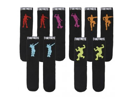 Fortnite ponožky Dancing - 3 páry