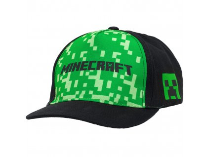 Minecraft Camouflage kšiltovka