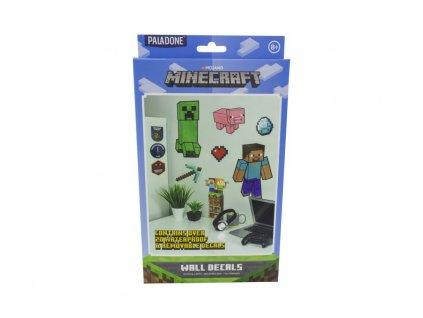 Minecraft samolepky na zeď