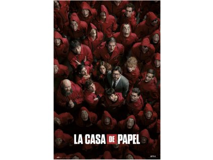La Casa De Papel plakát Válka