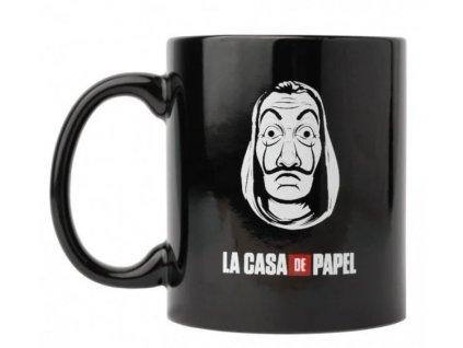 La Casa De Papel hrnek Maska černý