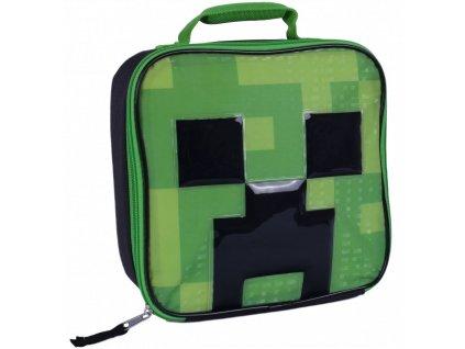 Minecraft termobox na svačinu Creeper