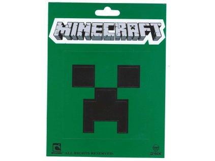 Minecraft samolepka Creeper face