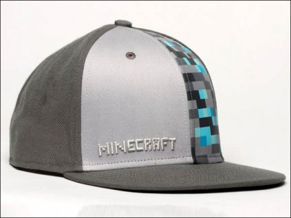 Minecraft Diamond snapback
