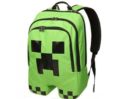 Minecraft Creeper školní batoh