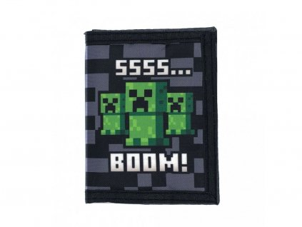 Minecraft peněženka Creeper Tri-Fold