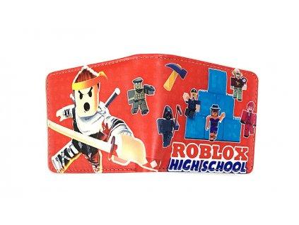 Roblox peněženka High school