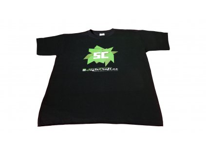 StyleCraft tričko černé - krystaly